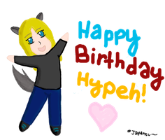 FULL VIEW Happy B-day :redone: by Magikwolf87