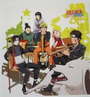 ORESKABAND Cover Spine_Naruto by zKrXiTa