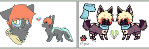 Special adopts !! by PlaguePuppet
