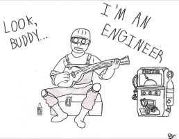 The Engineer by Sir-Croco