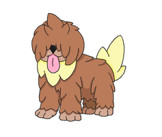 Fakemon- Mouttound by Casey333