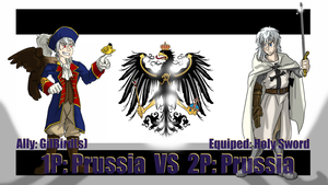 BONUS Hetalia Fights: 1P vs 2P Prussia by Sagealina