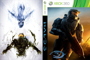 Halo 3 Custom Cover by shonasof