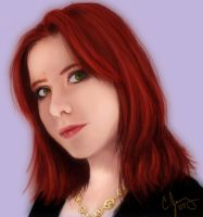 Self Portrait by Candy-Janney