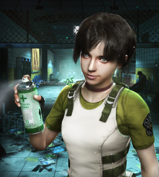 Rebecca Chambers HD REMASTER by DemonLeon3D