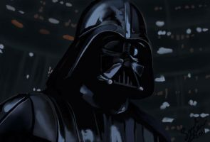 Darth Vader by thedeadbee