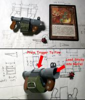 1:6 scale TF2 Sticky Launcher by JNorad