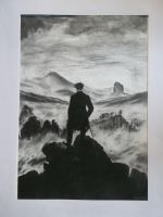 The Wanderer - Charcoal by i-UnKnown