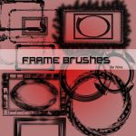 High res frames by flina
