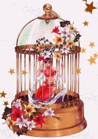 Golden Cage by Mebon