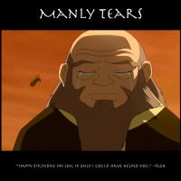 Manly Tears by SaucePear