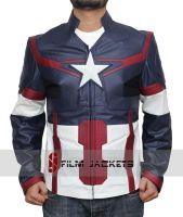 Avengers Age of Ultron Captain America Jacket by fjackets