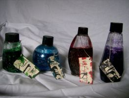 BottleScape: Bottle Set by DoorStop1227