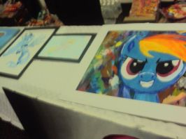 Paintings at BMC (BronyMexicon) Gala 2012 by Pietas