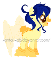 :|Custom|: Female butthurr - TheeEbonySouls by XantaL-XGB