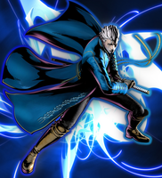Vergil Fan Wallpaper by AisenThePaladin