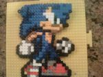Sonic Bead Sprite by WickedAwesomeMario81