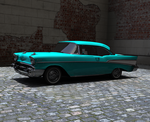 57 Chevy hardtop by GrahamSym
