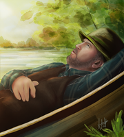 Commission - Uncle Phil by Zhepgig
