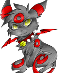 Lm A Demon Umbreon by RedNoctali
