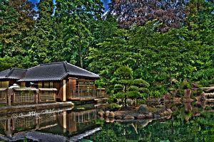 The Japanese Garden3 HDR by xMAXIx