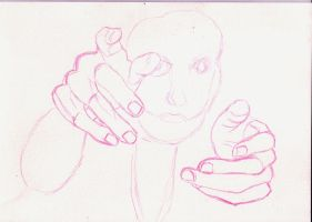 Start of a drawing by Briscott