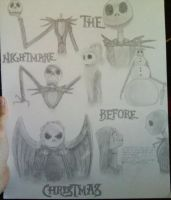 The Nightmare Before Christmas by psychicpsyco91