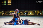 Vocaloid Cosplay - Miku And Luka Magnet Ver. by Sbabby