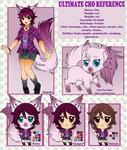 Ultimate Cho 2014 Reference Sheet by Sweetochii