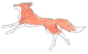 If Only Foxes Could Fly by Crying-Chimera