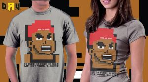 We Got Your T-Shirt 8-Bit Tee by davilesdesigns