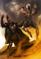 Ares vs Ares by Aracubus