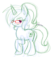 Star horse is NOT amused by Star-Sketcher-MLP