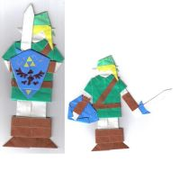 Origami Link by Wakeangel2001
