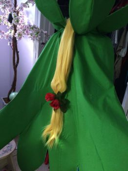 Rosemon's Cape and Wig Completed by ShadowWingCosplay