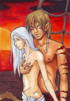 ACEO Collab 3 and 4 by Vorndess