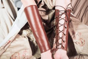 Costume Bracers For Sale by TEMPERATE-SAGE