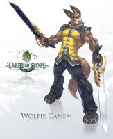 Tales of Hope: Wolfie Canem by Serisegala