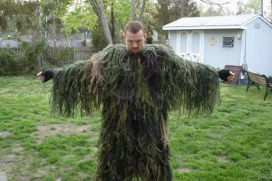 New Ghillie Suit by covertsniper83