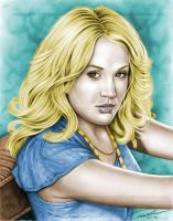 Carrie Underwood colored by nikki13088