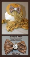 Timelord Bow - Matt Smith - Darling Army by DarlingArmy