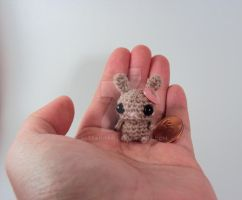 Prize - Brown bunny with heart by altearithe