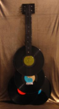 Record Guitar by Daring-Flame