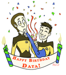 Happy Birthday Data! by brody-bot