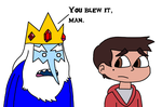 Ice King telling to Marco Diaz by MarcosPower1996