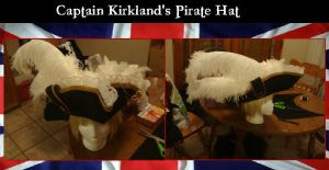 Captain Kirkland's Pirate Hat by Feicoon
