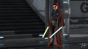 SWTOR Ophaelia by oOLaLoutreOo