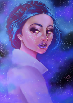 Starry Eyed by FishboneArt