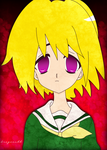 Satoko colored by dragoonbb