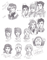 Avatar: Legend of Korra Sketches by GGgunner47